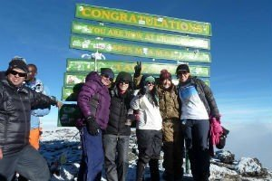 Kilimanjaro trek with the Velindre cancer charity
